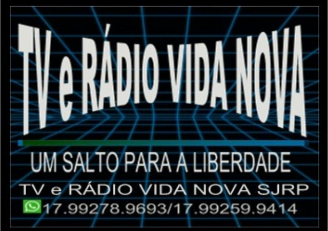 Logo da emissora Rádio e TV Vida Nova