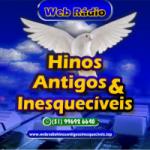 Logo da emissora Rádio Hinos Antigos e Inesquecíveis